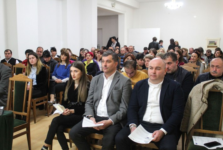 The New Project for Education and Employment of Youngsters Has been Started in Gori