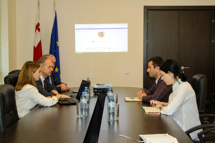 The Governor in Shid Kartli hosted the Ambassador of Lithuania