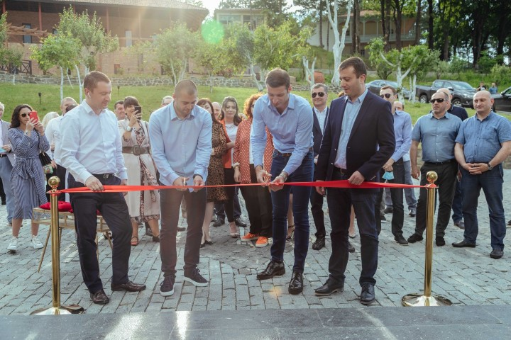 Hotel Writers was opened in Kvishkheti with the support of Produce in Georgia