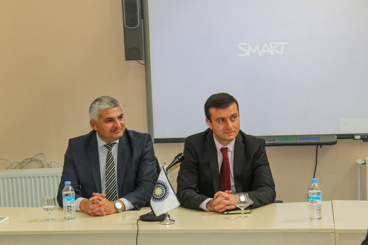Giorgi Khojevanishvili  met the students and staff of Gori State –teaching University