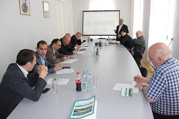 Disaster prevention issues were discussed in Shida Kartli Governors Administration