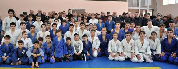 New Judo hall was opened in Gori