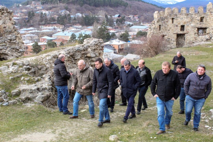 Rehabilitation Works will be done at Gori and Surami Castles