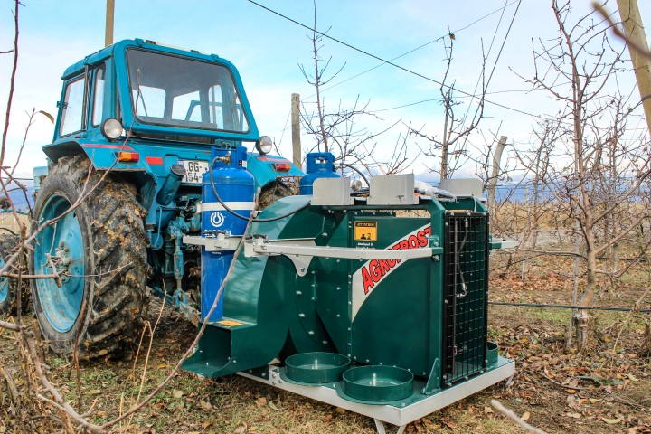 Presentation of  Frost  Buster System was Held with the Farmers of the Region