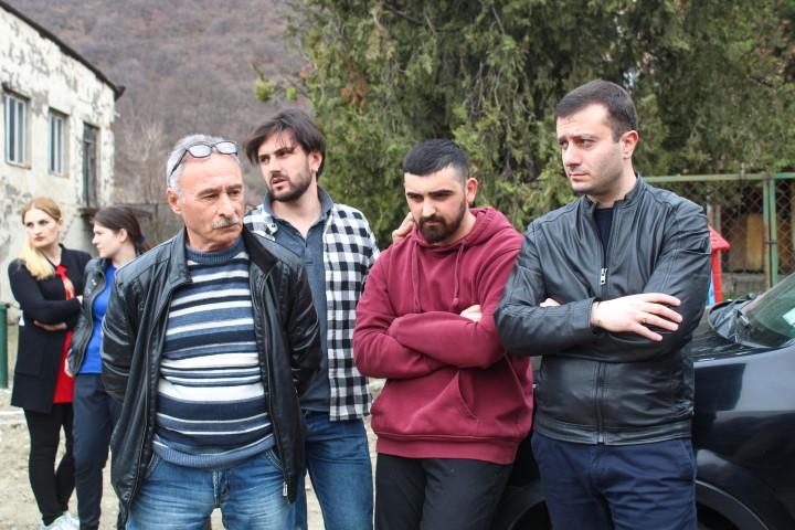 Giorgi Khojevanishvili Met Ateni Population and got Familiar to the Issue of Water Supplying