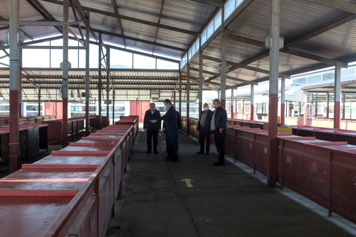 Agrarian market in Gori will resume functioning