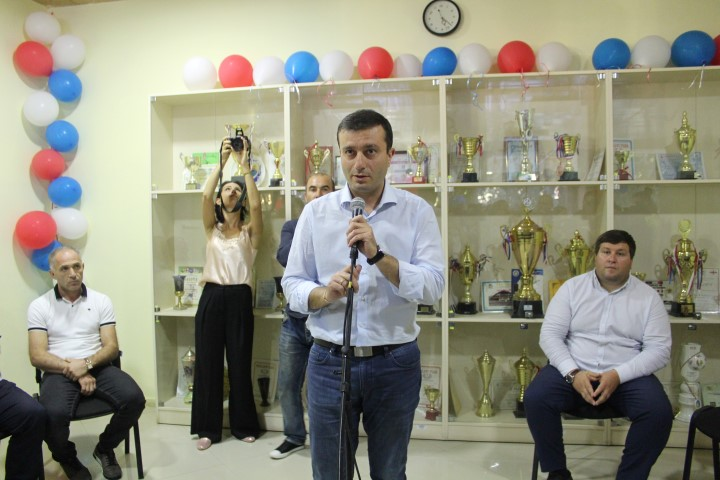 Presentation of the current year working plan was held in Gori Sporting School