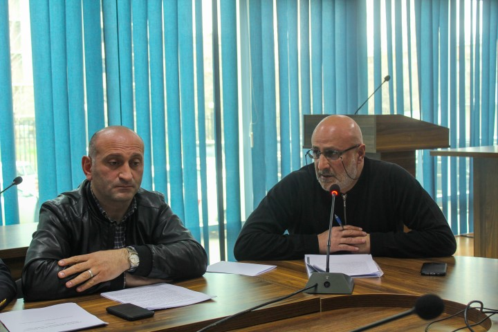Administration of  Shida Kartli Governor gave a presentation about the inter-municipality dog shelter