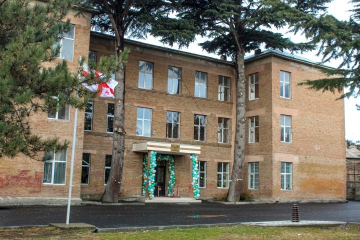 Rehabilitation of Gori Niko Ketskhoveli Public School #1 Has been Finished