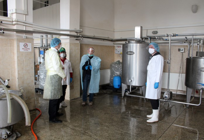 """რძის გადამამუშავებელი საწარმო ,,ნებიერა"""" აქტიურ რეჟიმში განაგრძობს მუშაობას"""