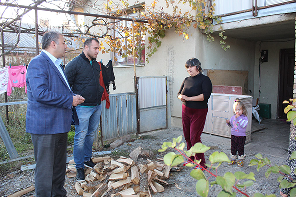 State Representative-Governors Administration visited Mazmishvili family