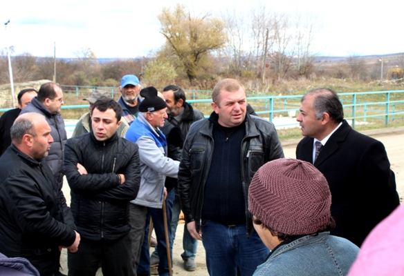 The Governor of Shida Kartli visited Tsromi