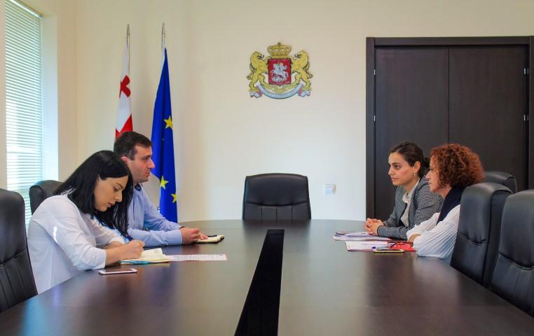 The Governor held a Working Meeting with the Representatives of the International Non-governmental Organization