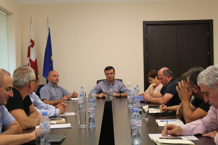 Shida Kartli Governor met the representatives of the agencies in the region