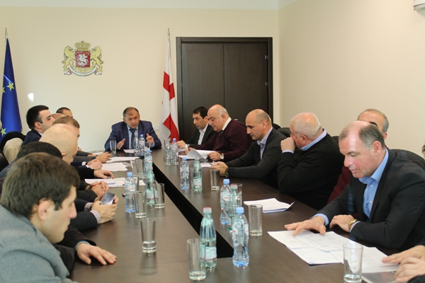 Consultation council was held at the Administration of the Governor