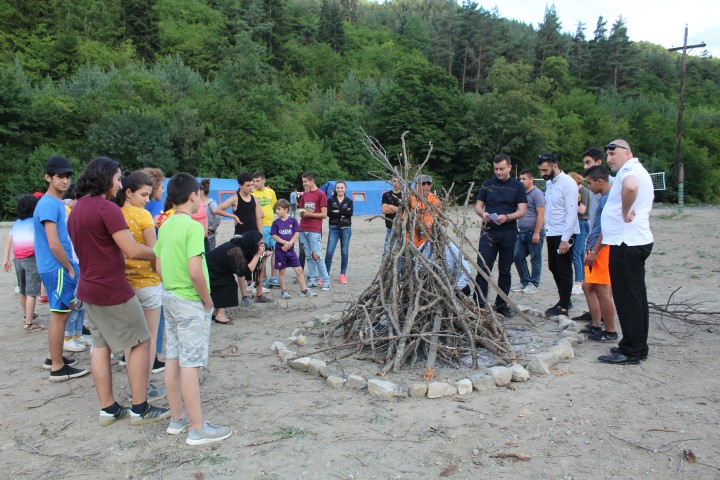 The Children Living in Gori Municipality will rest at Bobnevi Summer Camp in Ateni Gorge