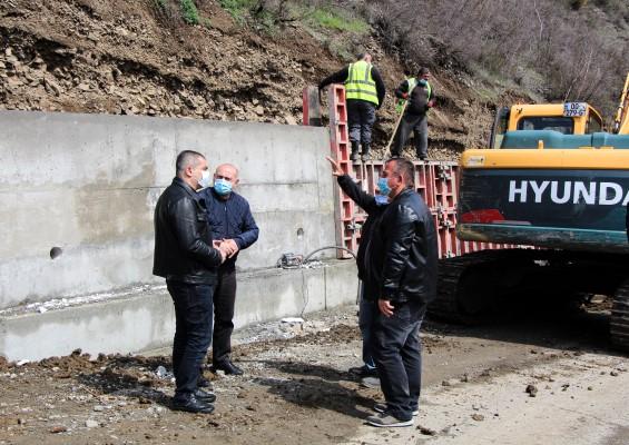 ხიდისთავი-ატენის გზის სამშენებლო სამუშაოები აქტიურ რეჟიმში მიმდინარეობს
