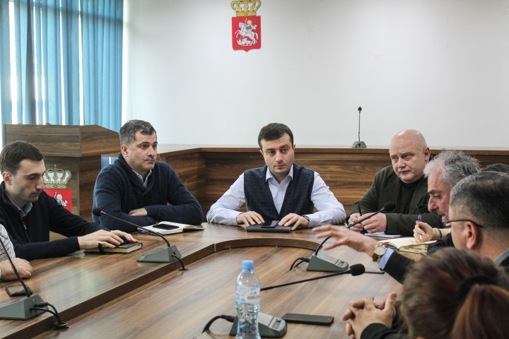 Public Discussion was Conducted about the Development of  Tourist Infrastructure of Gori Castle