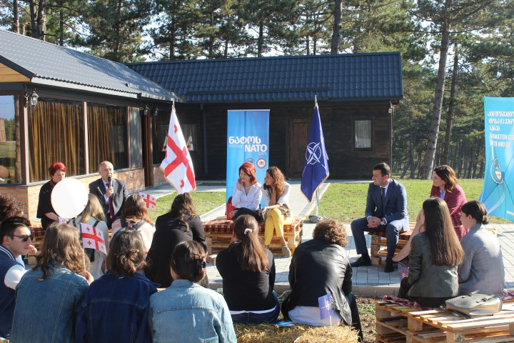 A meeting with the youth of Shida Kartli was held within the framework of NATO days