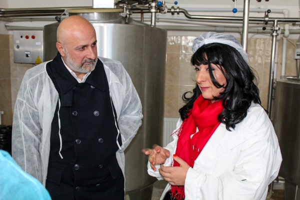 "The milk processing plant ""Nebiera"" was opened in Gori"