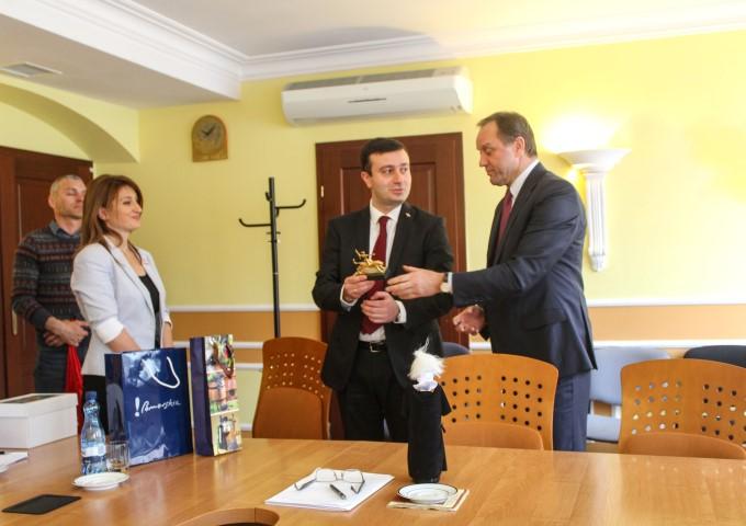 Representative of Shida Kartli is paying an official visit to Poland