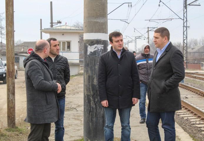 Railway Platform will be Rehabilitated in Kvakhvreli