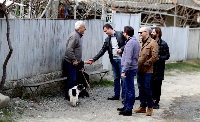 Giorgi Khojevanishvili,-State representative in Shida Kartli was in the Kaspi