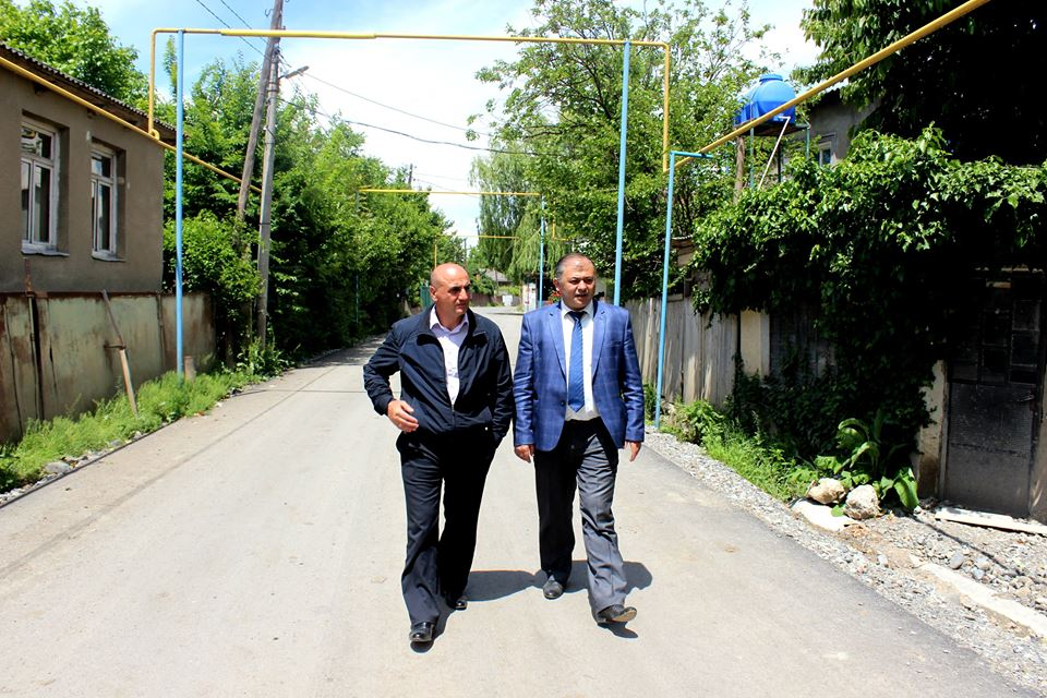 A new 6 km road construction comes to the end in Kareli municipality