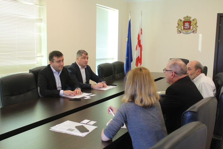 USAID Economic Security Program was discussed in Shida Kartli administration