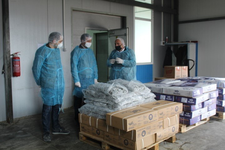 Shida Kartli State Representative got acquainted with the work of the fish factory