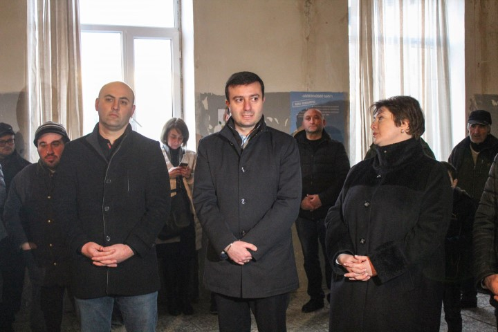 Governor of Shida Kartli and Vice-Prime Minister Attended the General Meeting in the Village of Ptsa