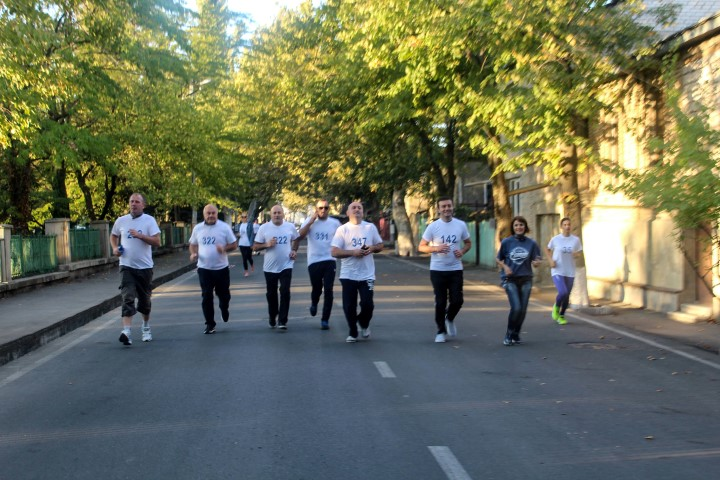 The Governor participated in the marathon organized by EUMM