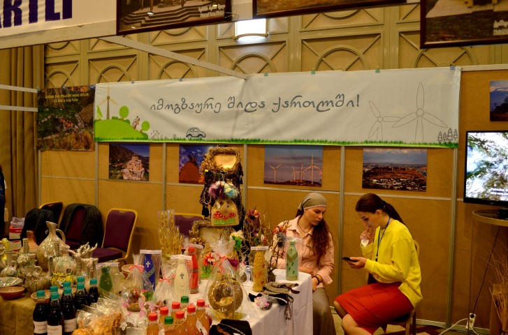 Shida Kartli has become the region with the best stands on 12th International Tourism Exhibition