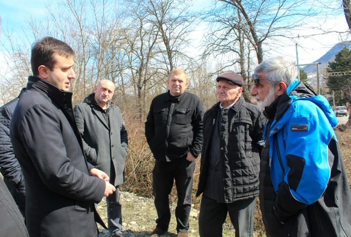Arrangement of Irrigation Water supplying will Start in the Khashuri Municipality