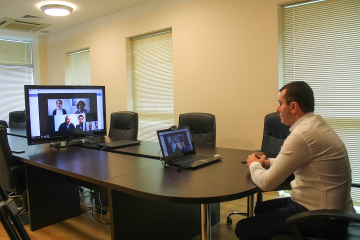 The process of distance learning is going  constantly   in Shida Kartli