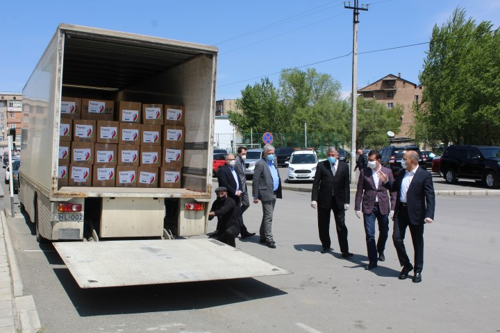 SOCAR Energy Georgia donated food products to socially vulnerable families living in Shida Kartli