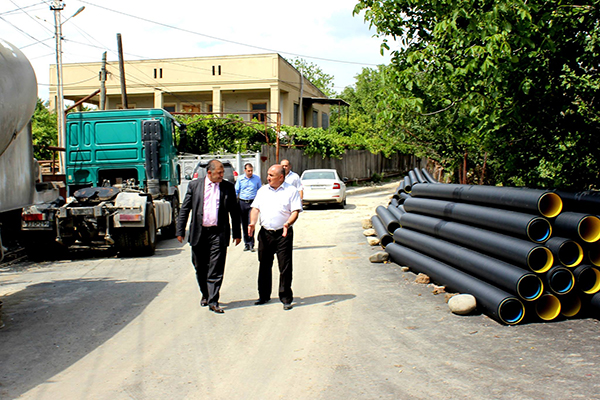 New roads and bridge - Infrastructural workings continue in Kaspi