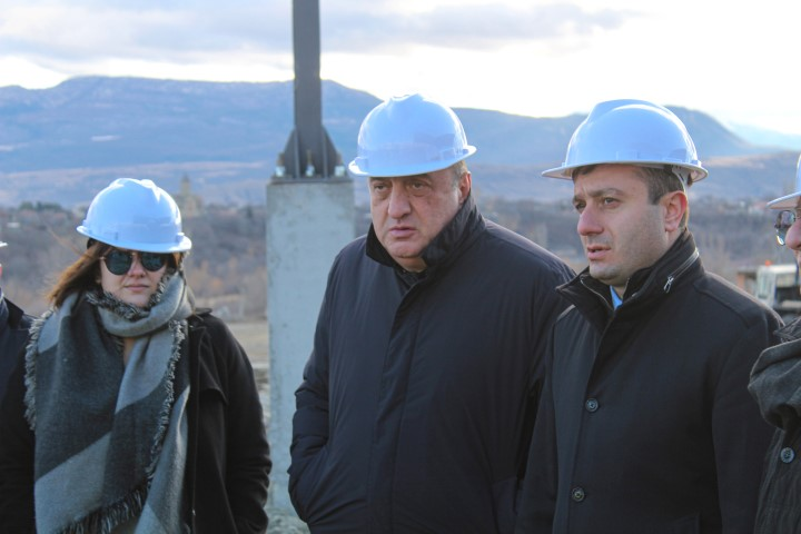 A Ceramic Production Plant is being Built in Kaspi