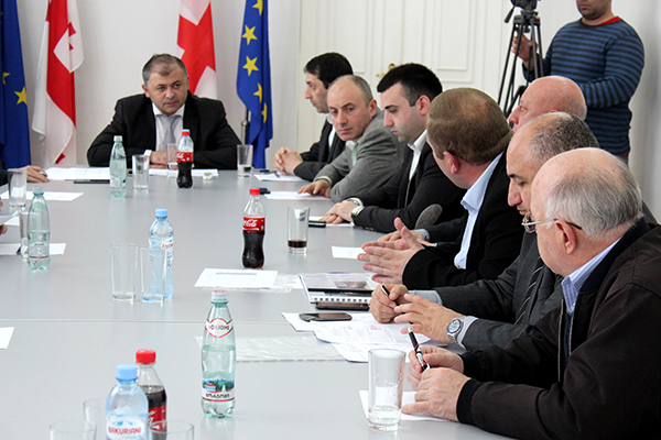 Regional Consultative Session was held in the assembly hall of Shida Kartli Governor's administration