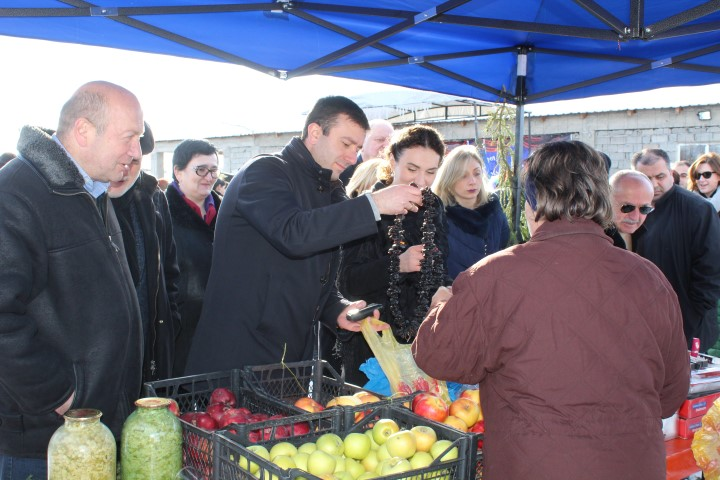 Christmas Marketing was Held in Ergneti