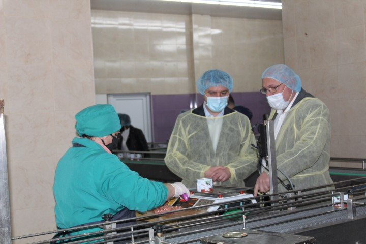 Meat processed enterprise  did not stop working in Gori despite of pandemic