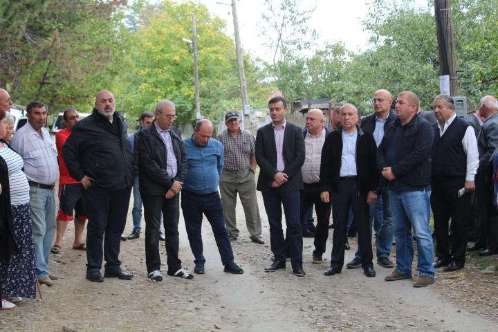 ხაშურის მუნიციპალიტეტის სოფლებში მოსახლეობასთან შეხვედრები გრძელდება