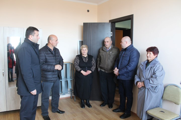 The Building Damaged by Natural Gas Explosion was Rehabilitated in Kareli