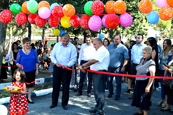 №1 Kindergarten was opened In Kaspi