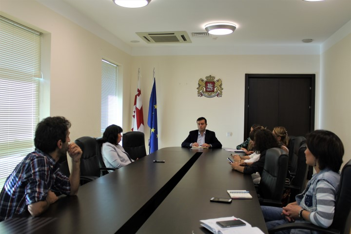 Giorgi Khojevanishvili held a regular meeting with the Media representatives