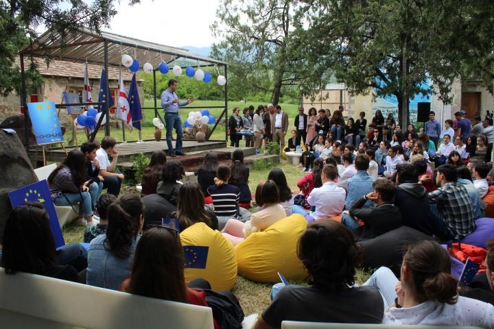 Art-villa Garikula hosted the final event of ''European Days''