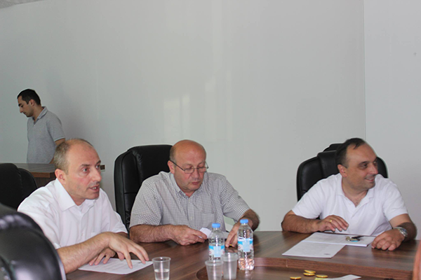 17th Coordinating meeting was held in Gori