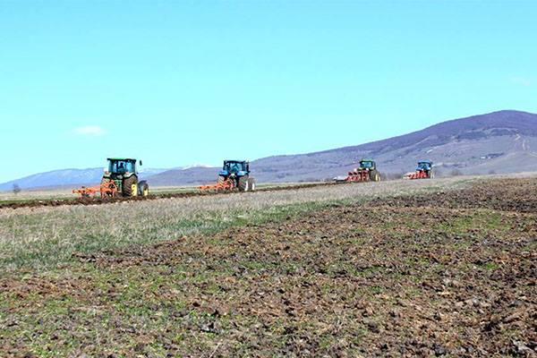 გამყოფი ხაზის მიმდებარე სოფლებში ფერმერთა ხელშეწყობის საგაზაფხულო პროგრამა აქტიურად მიმდინარეობს
