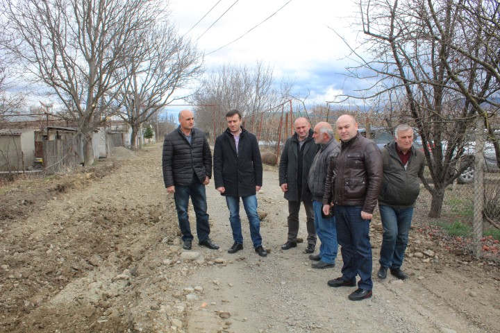 Arranging of Road Infrastructure is Going on in Karel