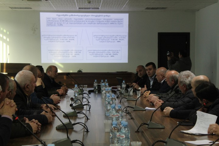 The Projects Implemented in Shida Kartli Regional Administration in 2019 are Summarized